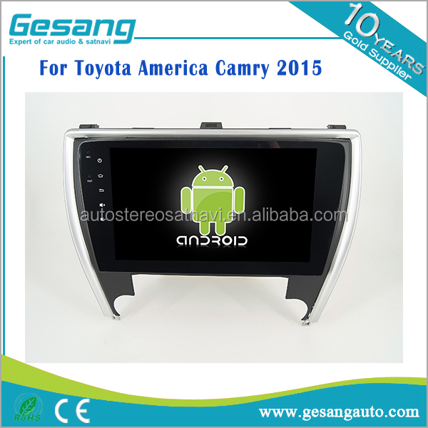 car entertainment system car GPS navigation android 6.0 car dvd player for Toyota America Camry 2015