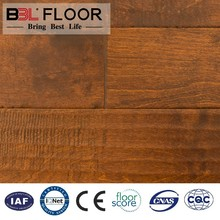 factory home/hotel decoration tongue and groove flooring with certificate