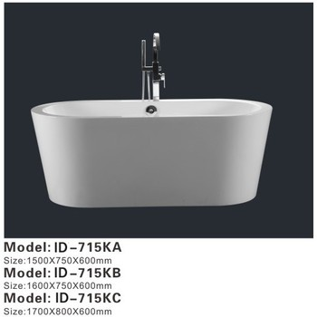 Custom Size Free Standing Deep Bathtub Buy Free Standing