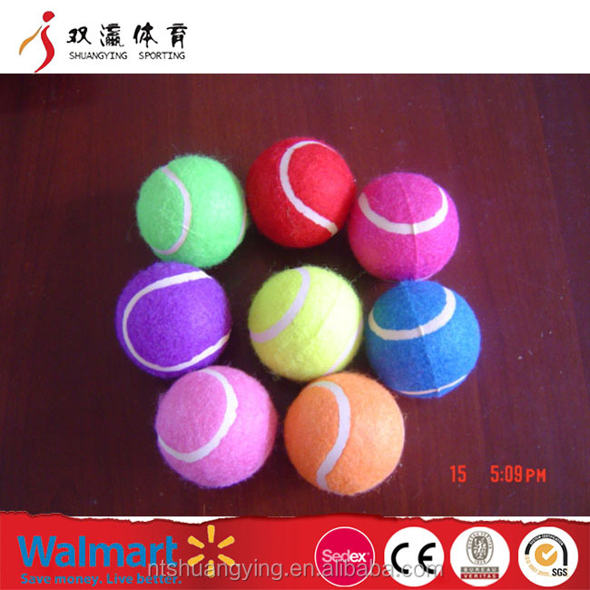 personalized tennis balls OEM bulk wholesale, custom printed multicolor promotion tennis ball