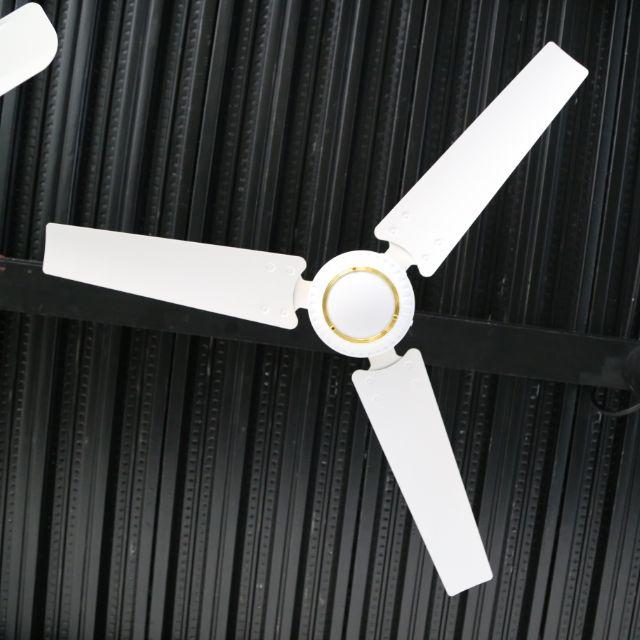 """56 """"dc dekorative decke fan DC doppel verwenden solar bldc fan mit fernbedienung 12V dc decke fan"""