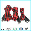 China supplier 12v 22awg male to female dc power extension cable