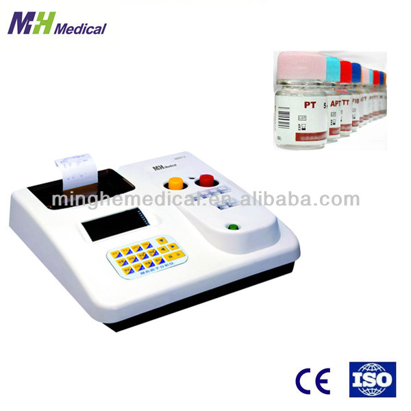 modern electric diagnostic equipment MHN-2 semi automated blood coagulation analyzer