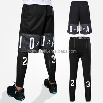 700008ea9118e customized basketball shorts with running men tights/shiny running shorts