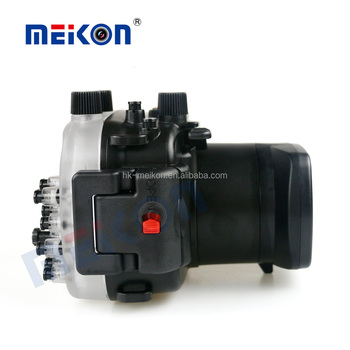 2016 China Manufacturer Meikon Underwater 40m Waterproof Camera Case for Canon EOS M3 (18-55mm )