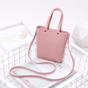 Fashion Girl Crossbody Bag PU leather Cellphone Shoulder bag