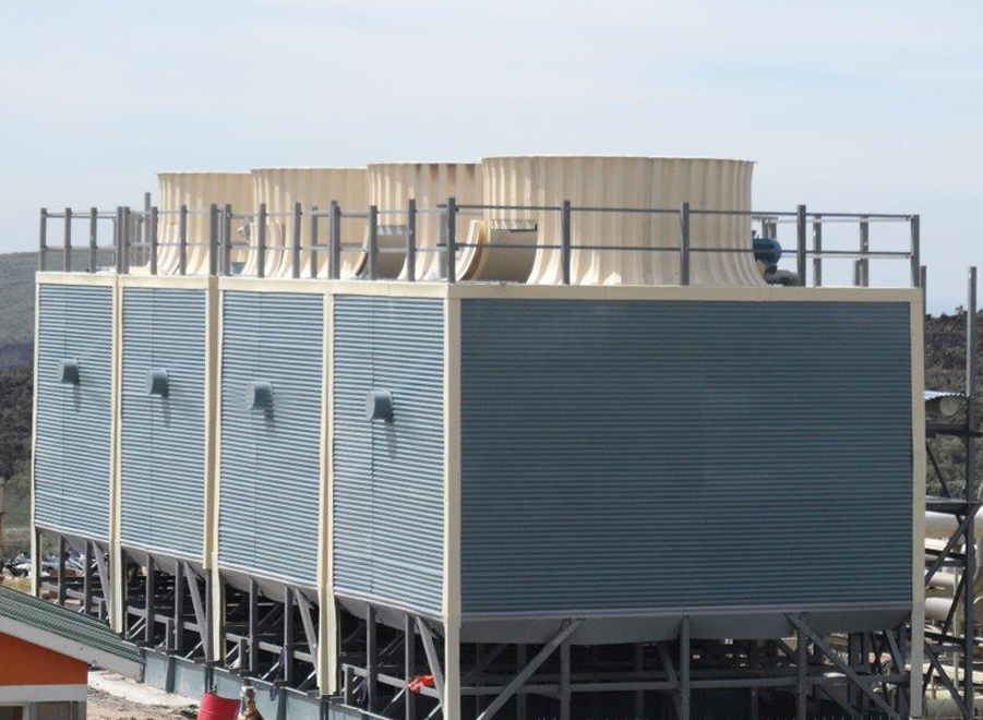 Counter Flow And Cross Flow Industrial Frp Cooling Tower