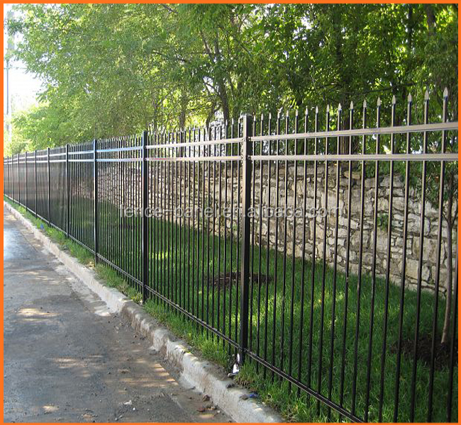 Decorative Wrought Iron Ornamental Metal Railing And