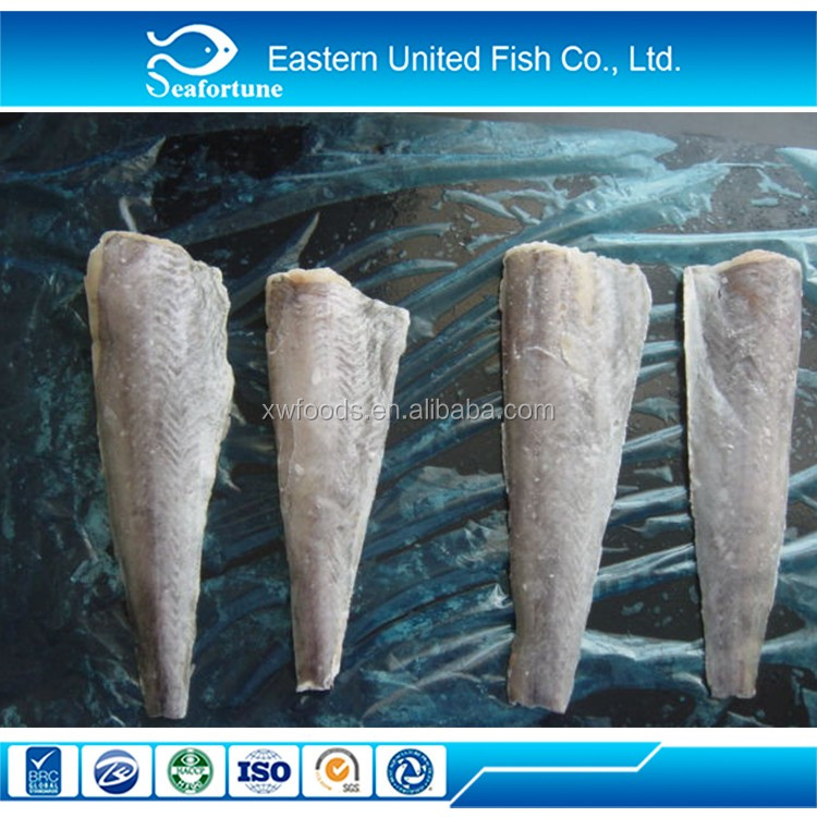 China Factory Supplier Various Types Of Good Quality Frozen Hoki Fille