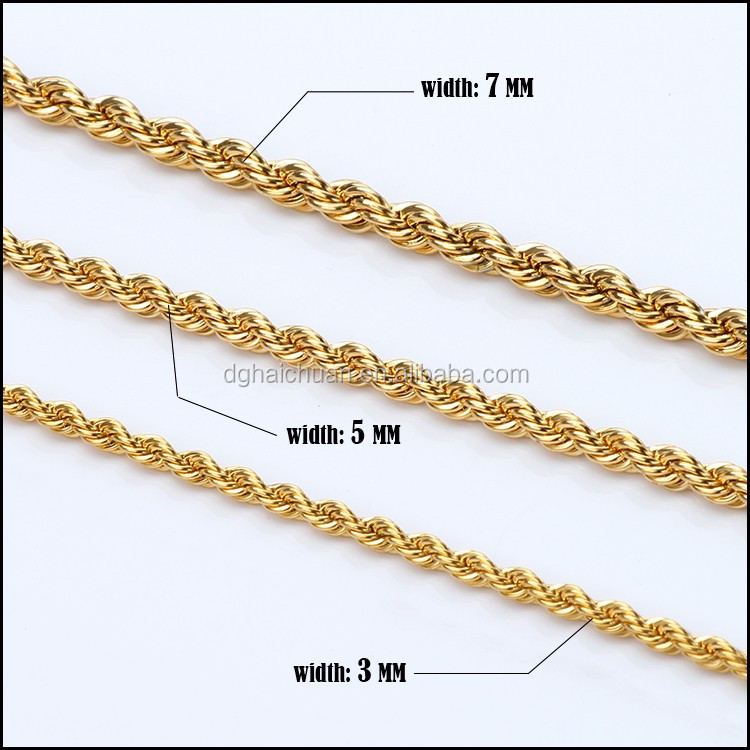 fashion quality sterling twisted s necklace men store for silver rope chains product high bracelets jewelry set chain