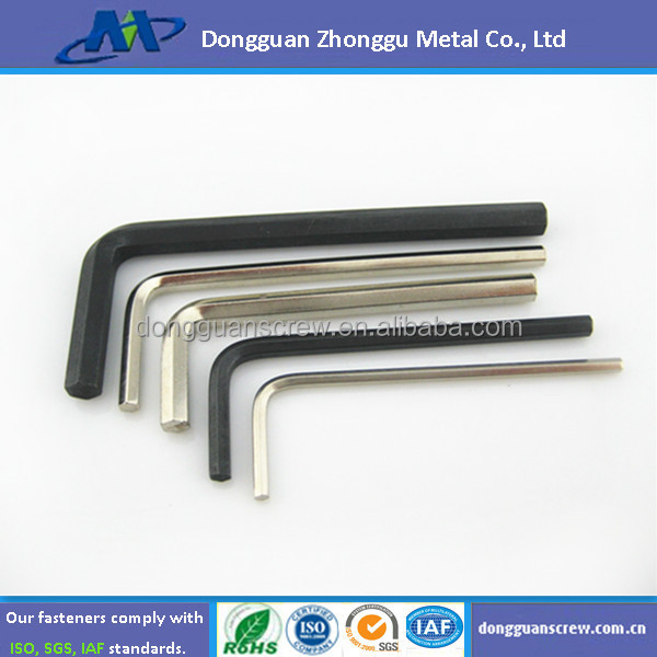 High quality hexagon spanner/hex key
