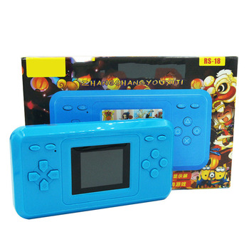 2018 NEW HOT Childhood Classic Handheld Game player With 120 Games 1.8 Inch color screen PVP Portable Handheld Game Console