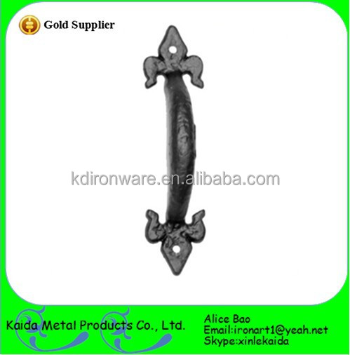 best manufacture of cheap cast iron door/window Handles&hardware in china
