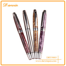 2016 Luxury texture painting heavy metal ink gift fountain pen