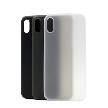 2019 0.3mm super thin phones cases for iphone x, for iphone x case matte case with factory price
