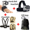 4 in 1 GoPro Go Pro Accessories Set Harness Chest Belt Head Stap Mount for Gopro