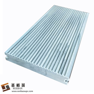 Outdoor waterproof composite colorful swimming pool Coextrusion WPC decking