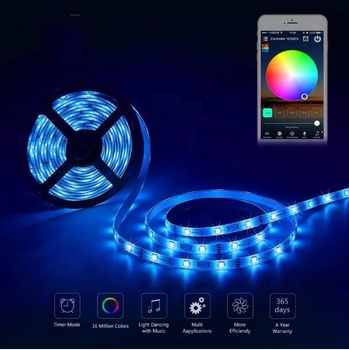 Retailer Blister Packing IP20 IP65 IP68 Non Waterproof Multi color 300 smd 5m RGB 5050 12v led strip light