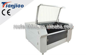 laser cutting machine with CCD cameral for Cotton material TJ-1610