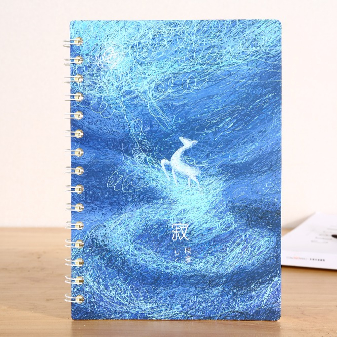 New style design starry star notebook made in China