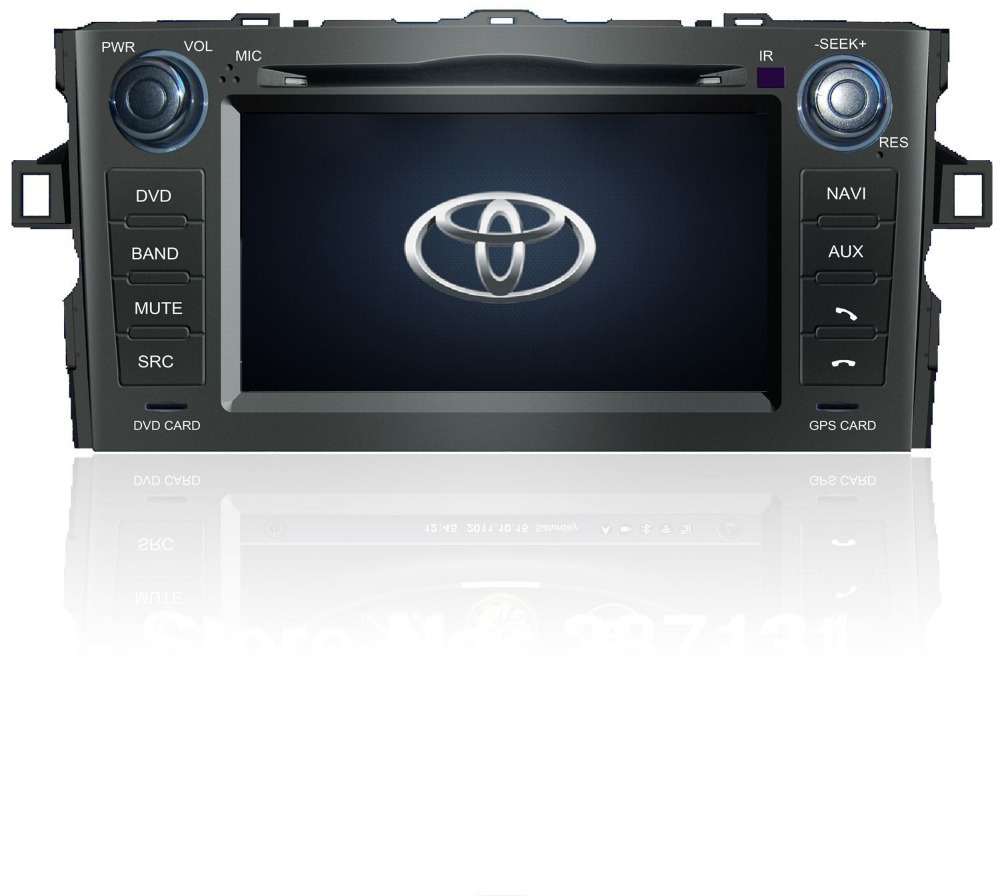 Get Quotations Toyota Auris Car Dvd Gps Navigation Autoradio Sat Nav With Rds Wifi 3g Fm Transmitter