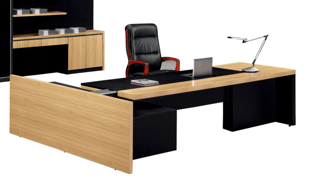 Scrivania In Legno Chiaro : Moderno ufficio in legno melamina grande scrivania buy melamina