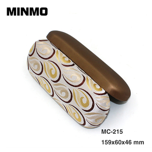 China stylish fancy glasses frame metal eyeglass case, high quality fashion eyeglasses case