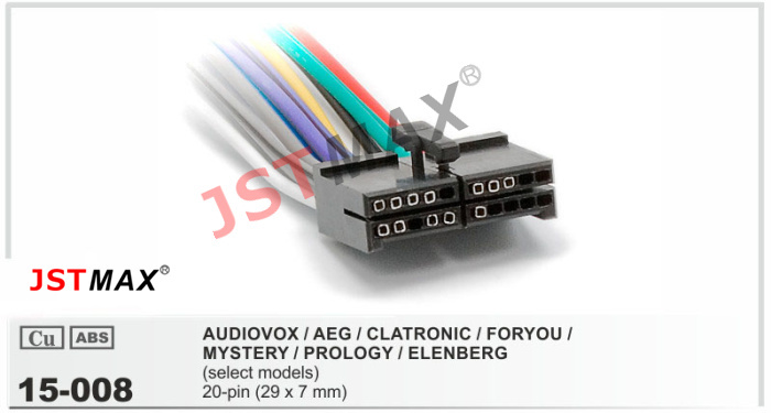20 pin radio wiring diagram dual toyota 20 pin stereo wiring aliexpress.com : buy jstmax car dvd radio stereo iso cable ...