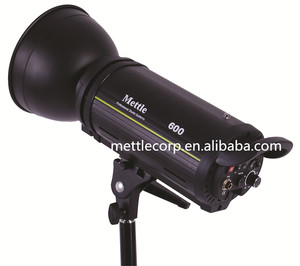 Mettle 600W Professional Studio Strobe Light Flash Light for Photography