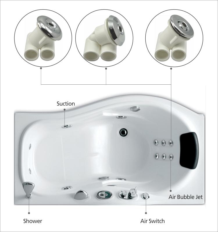 Whirlpool Bathtub Spare Parts Hydro Jet Nozzle Bathtub - Buy Jet ...