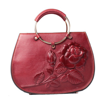 612daee81c Women fashion top grain pebble leather emboss pattern custom purses handbags  ladies bags handbag jpg 350x350