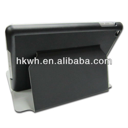 2012 new fashionable book leather case for ipad mini,for tablet PC mini iPad case