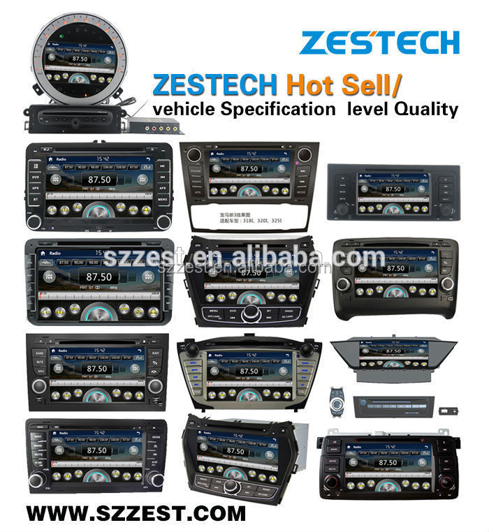 ZESTECH Factory 8 inch double din car dvd for toyota RAV4 2013-2014 with GPS Bluetooth AM/FM SD MAP Rearview camera