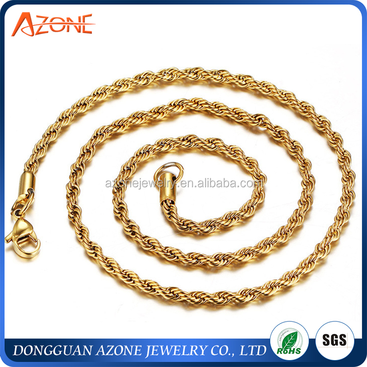 2017 Wholesale Stainless Steel Jewelry Singapore Necklace Gold Necklace Men  Gold Chain Necklace - Buy Necklace,Gold Necklace,Gold Chain Product on