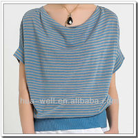 Woman short sleeve cashmere sweater