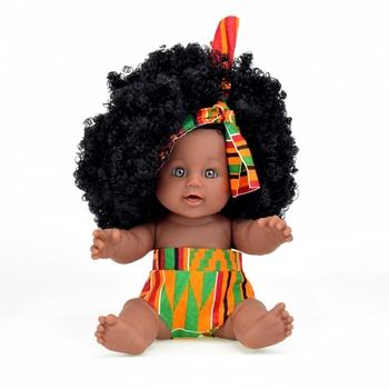 Chine Fabrication Réaliste Vinyle Mode 12 Pouces Afro Noir Bébé Poupées Pour Les Enfants Buy Poupée Noirepoupée Réalistepoupées Noires