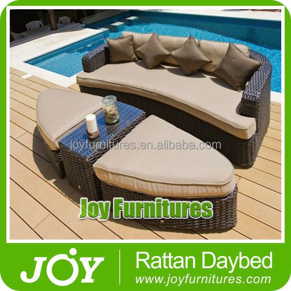 rotin en osier ronde table basse bali m ridienne outils de. Black Bedroom Furniture Sets. Home Design Ideas