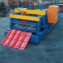 tile making machine type glazed tile roll forming machine /zinc roofing sheet machine making profiles
