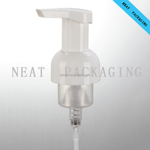 Cosmetic pump lotion transfer Foam Pump40mm Plastic PP