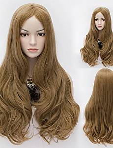 Wigs have an attractive convenience fashion Fashion Natural Wave Lady Wigs Hair Beauty Tips Synthetic Hair Wigs
