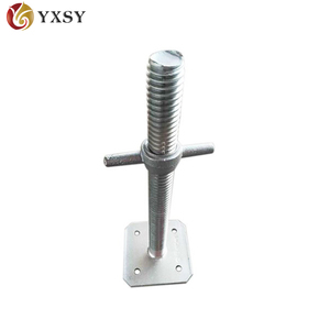 Adjustable Steel Props for Construction jack base scaffolding
