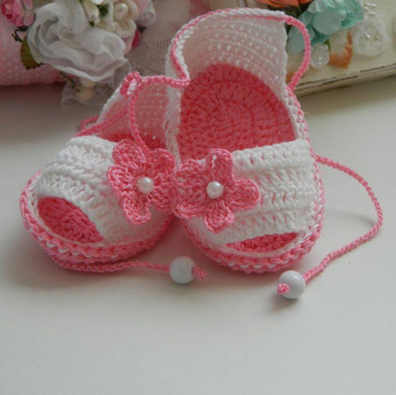 Venta al por mayor patron zapatos crochet-Compre online los mejores ...