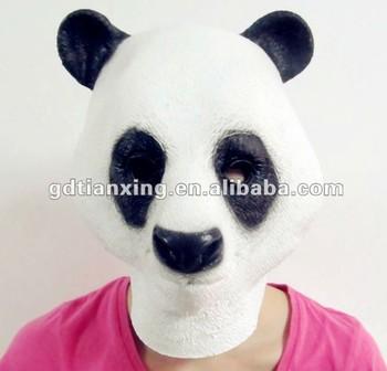 Panda Movies Mask Latex Mask Realistic Children Animal Mask