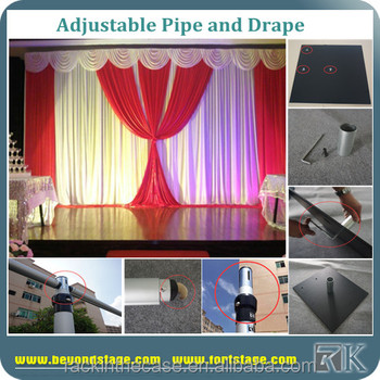 Simple Design Curtain Lights For Wedding Backdrop With Reasonable