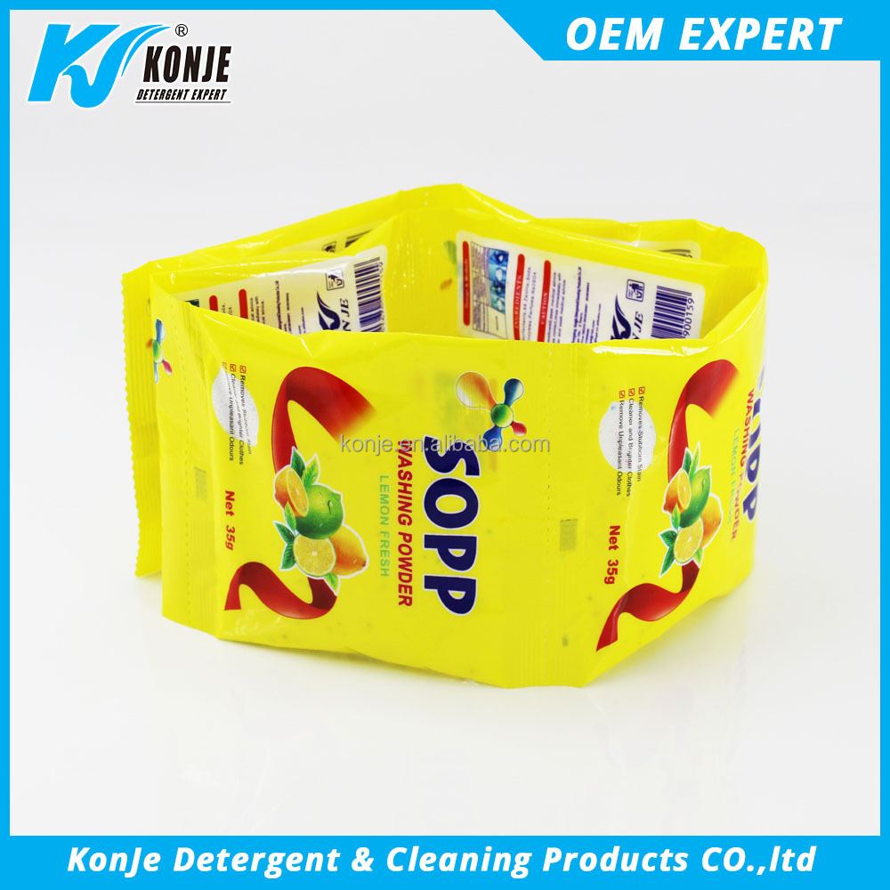 Good price detergent powder organic clenaing products