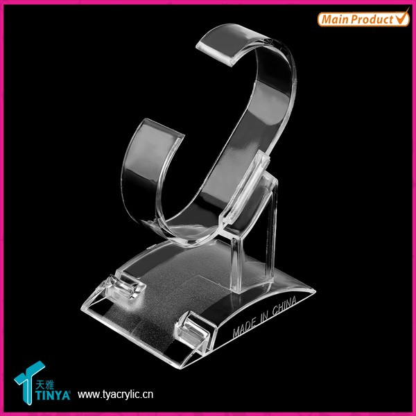 Wholesaler In China Distributors Wanted Shop Retails Acrylic Bracelet Watch Display Rack/Stand/Holder Watch Display Stand Holder