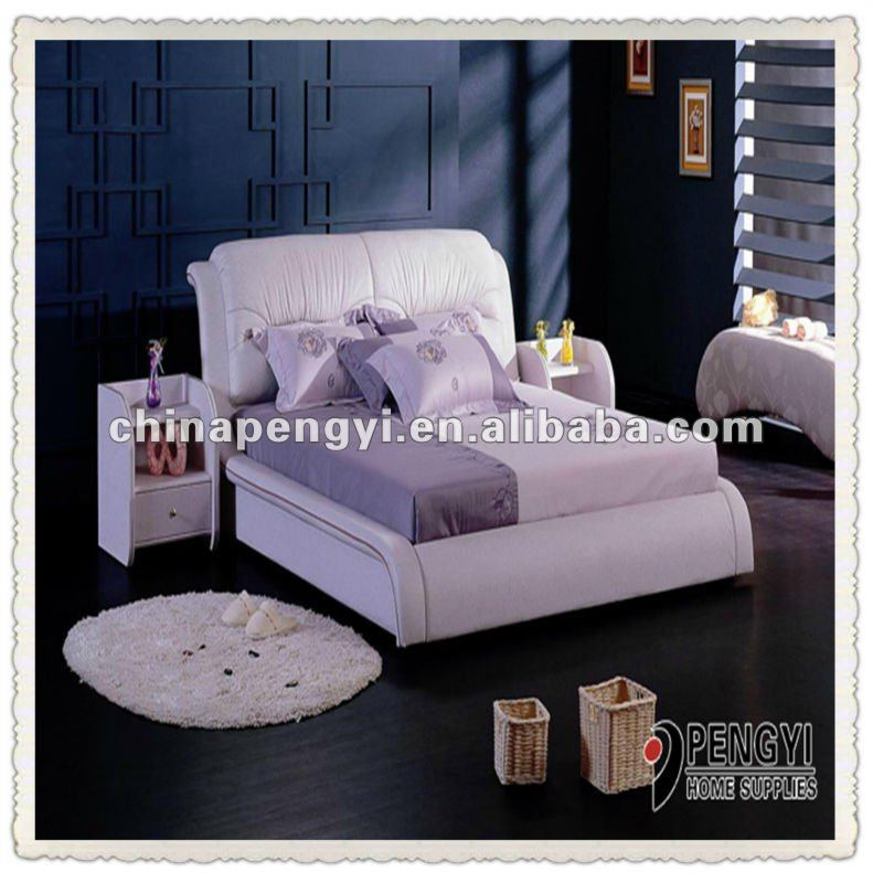 Italian Bedroom White Design Py-729