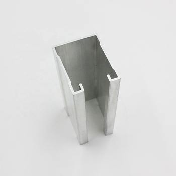 square slotted tube aluminum 6062
