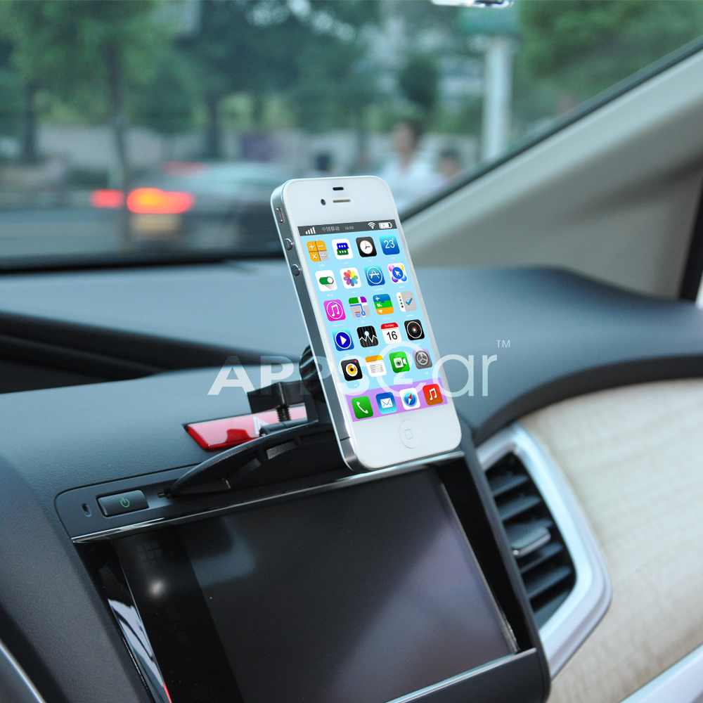 Apps2car cd slot cradle less universal magnetic car mount holder for iphone 6 6 plus 5