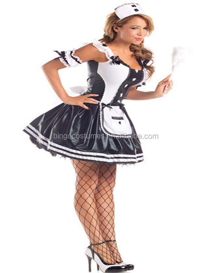 Halloween Sexy French Maid Dress